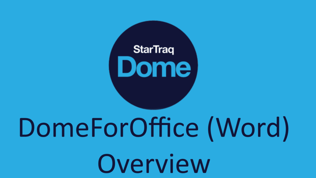02. DomeForOffice (Word) Overview (02:42)